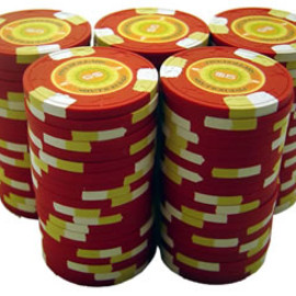 Sidepot Clay Poker Chips - High-end Casino Chips
