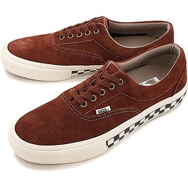 VANS - Vans Era Pro Foxing Checkers Brown