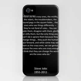 Society6 - Crazy Ones  iPhone Case
