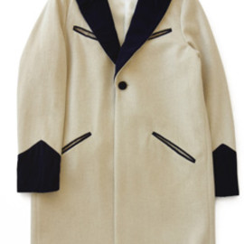PHINGERIN - No Lapel Teddy Coat (lt.camel)