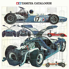 Tamiya - Tamiya Model Catalogue 1971