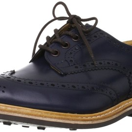Tricker's - Full Brogue Derby Shoes / Dainite Sole