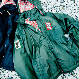 have a good time × BEAMS - Hooded Coach Jacket