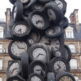 Paris - Clock Tower