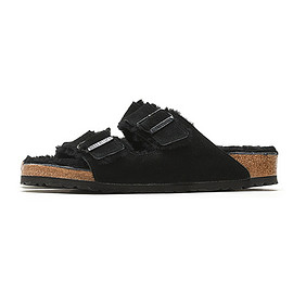BIRKENSTOCK - Arizona Fur-Black