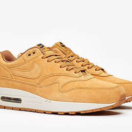 NIKE - Air Max 1 - Wheat/White/Gum Light Brown
