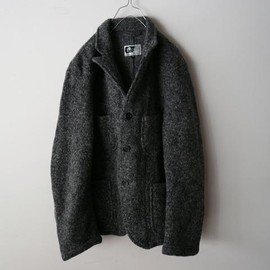 ENGINEERED GARMENTS - Bedford Jacket Heather Sweater Knit