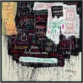 Jean-Michel Basquiat - Museum Security