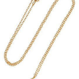 IAM by Ileana Makri - Storm gold-plated necklace