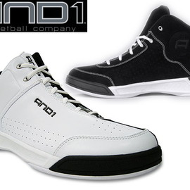 AND1 - 【AND1】TAI-CHI TGR MIDアンドワンタイチタイガー・ミッド[WHITE/BLACK/SILVER]and11004mスニーカー