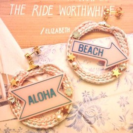 And Heart - BEACH&ALOHAピアス