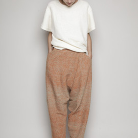 ANNTIAN wool pants  CRYSTAL