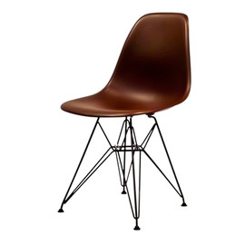 Herman Miller - Eames Shell Side Chair DSR Classic Model LIMITED EDITION チョコレートブラウン【天童木工PLY × Herman Miller】