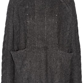 Frame - Oversized cable-knit cashmere turtleneck sweater