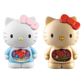 MEDICOM TOY - DR.ROMANELLI HELLO KITTY ANATOMY ver. (NORMAL / VINTAGE)