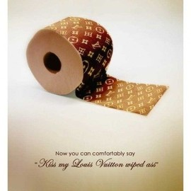 LOUIS VUITTON - toilet paper
