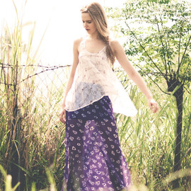 Book of Deer - Shade skirt and Ivy top- floaty for the Summer