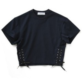 TOGA PULLA - Ribbon Jersey Top (navy)