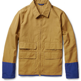 MARNI - Marni Contrast-Trim Cotton-Blend Canvas Jacket