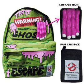 GHOSTBUSTERS - GHOSTBUSTERS BACK PACK GREEN×PINK ゴーストバスターズ バックパック グリーン×ピンク