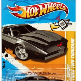 Hot Wheels - K.I.T.T. Knight Industries Two Thousand