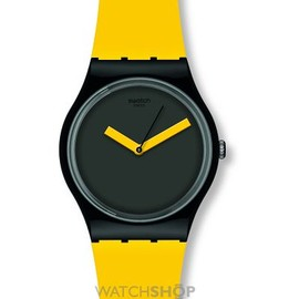 Swatch - Unisex Swatch Yellow N Brown Watch GB270