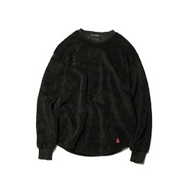 SOPHNET. - BOA FLEECE BIG CREWNECK CUTSEWN