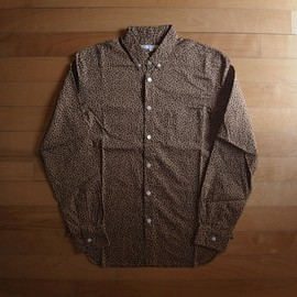 "DISCOVERED - LEOPARD B.D SHIRT ""BROWN"""