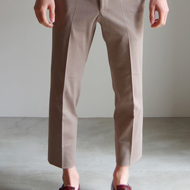 RAINMAKER KYOTO - PIPING TROUSERS/BEIGE