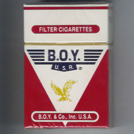 soviet cigarettes - boy