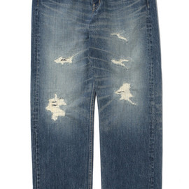 SANTASTIC! - DAMAGE DENIM PANT
