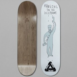Palace Skateboards - Palace S.P. Hanging Team 8.1 Skateboard Deck