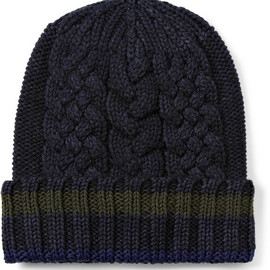 Etro - Wool and Cotton Beanie Hat