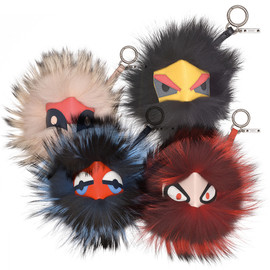 Fendi - bag bugs holiday collection bag charm, key ring