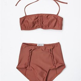 Creatures of Comfort - Mauve Bikini set