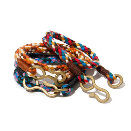 hobo - Mix Rope Brass Hook Bracelet