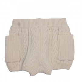 Honey mi Honey - Cable knit kids short pants