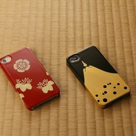 cavre - iPhone4(S) cover handmade by natural  lacquerware @Japan