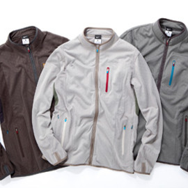 GYAKUSOU - DRI-FIT BRUSHED JACKET