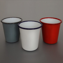 LABOUR AND WAIT - Enamel Tumbler