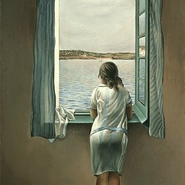 Salvador Dali - Person at the Window