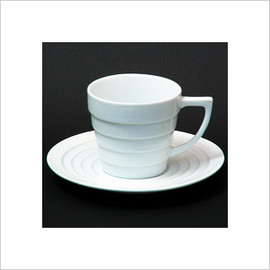 FRANK LLOYD WRIGHT COLLECTION - Guggenheim Coffee Cup and Saucer