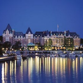 Victoria, CANADA - The Fairmont Empress Hotel