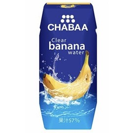CHABAA - Clear banana water