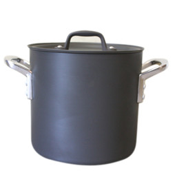 ETOETOTEATO, エトエトテアト - PRO SELECT Stockpot 18cm col.black×silver