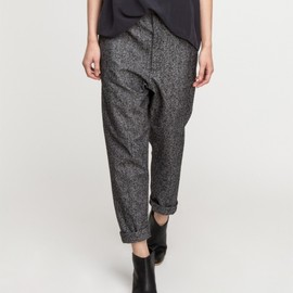 Base Range - Loose Pants in Grey