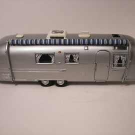 Franklin Mint - 1/24 AIRSTREAM LAND YACHT
