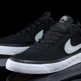 Nike SB - Zoom Bruin Premium -Black/White Gum/Medium Brown/Base Grey