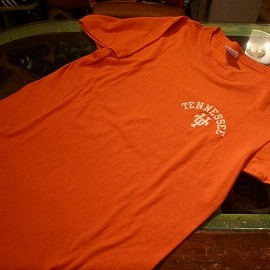 "Champion - 「<deadstock>70's Champion T-SHIRT orange""made in USA"" size:S 5800yen」販売中"