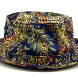 Engineered Garments - Pork Pie Hat - Paisley / Navy